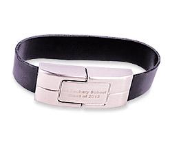 Leather Wristband Bracelet
