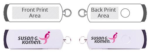Metal Twister Swivel USB Flash Drive Tech Specs