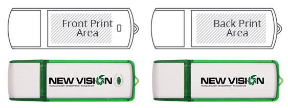 Sideline USB Flash Drive Tech Specs