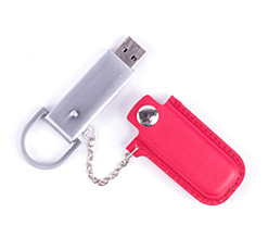 Leather Snap Holster USB Flash Drive Category