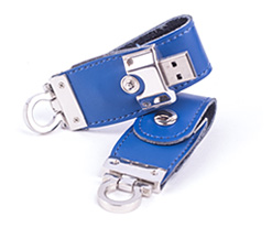 Omega Leather Loop USB Flash Drive Category