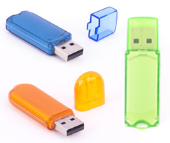 Clear Classic USB Flash Drive Category