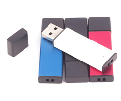 Metallic Blacktop Classic USB Flash Drive Category