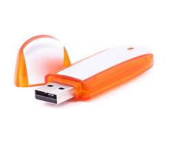 Oval Sideline USB Flash Drive Category