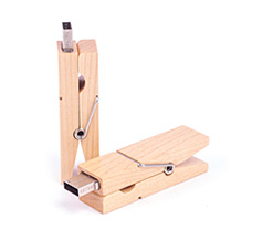 Wood Clothes Pin USB Flash Drive Category