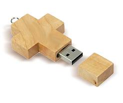 Wooden Cross USB Flash Drive Category