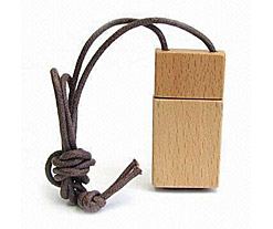 Wooden Necklace USB Flash Drive Category